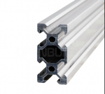 Aluminum profile V-SLOT 2040 - Anodized silver 250mm