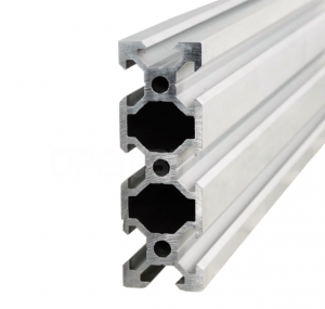 Aluminium profile V-SLOT 2060 - Anodized silver 1500mm