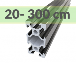 Aluminium Profile 2040( cut-to-size)