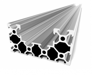 C-BEAM Profile - Anodized silver 1000mm (1)