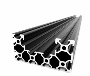 C-BEAM Profile - Anodized black 1500mm (1) (1) (1)