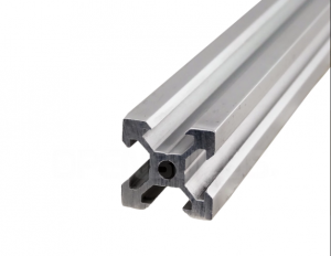 Aluminum profile V-SLOT 2020 - Anodized silver 1000mm