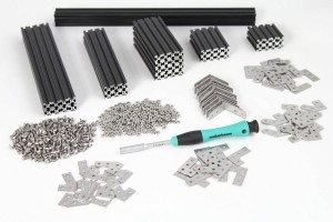 Starter Kit Regular MakerBeam BLACK