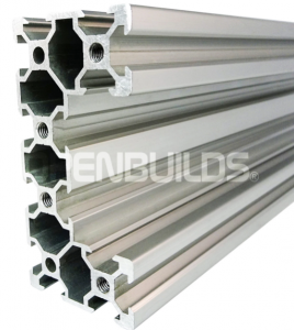 C-BEAM Profile - Anodized silver 500mm